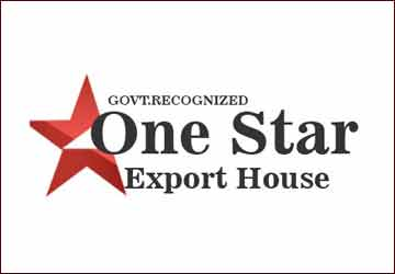 One Star Export House Certificate